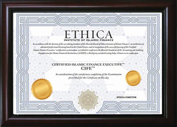 CIFE Certificate